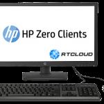 Тонкий клиент HP T310 All-in-One VDI-технология DaaS
