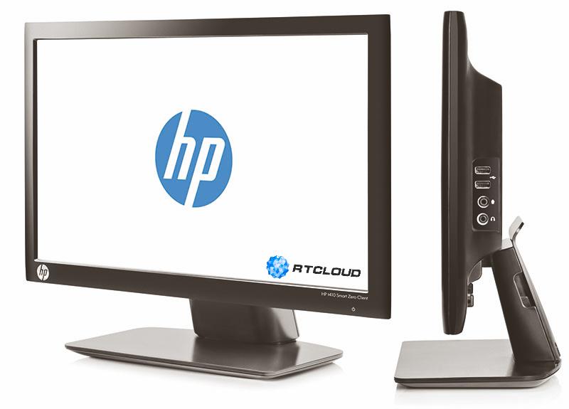 Тонкий нулевой клиент HP T410 All-in-One VDI-технология, DaaS, RDP, Облачный офис